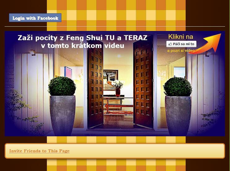 feng shui a jeho podstata - moje video