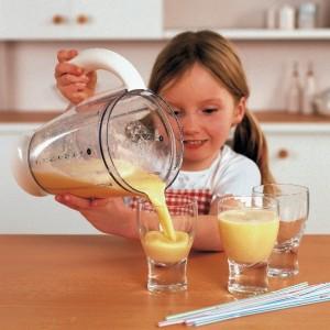 Výroba smoothie