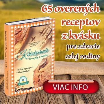 Kuchárska kniha Kváskovanie- Recepty z kvásku