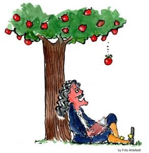 newtonove jablko