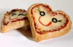 Mini pizze srdiecka