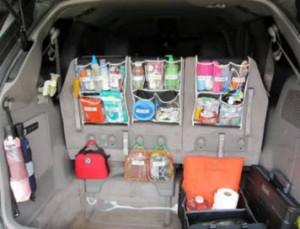 organizery do kupelky aj do auta