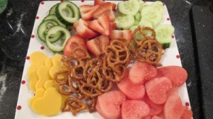srdiecka zo zeleniny a ovocia