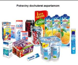potraviny s aspartamom
