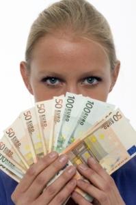 zena a peniaze