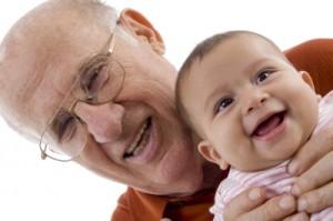 usmev dedko a vnuk