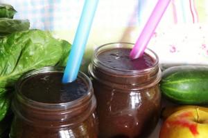 smoothie s karobom