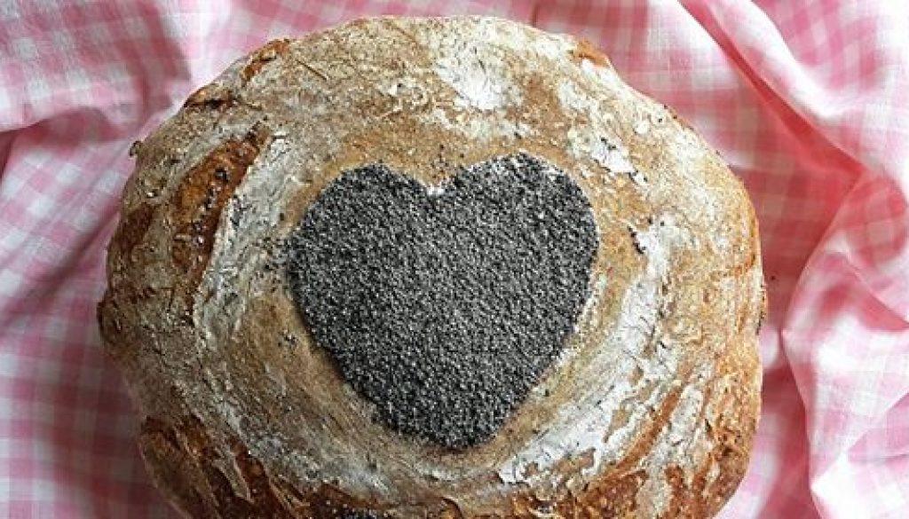 kvaskovy srdcovy megaokac chlieb