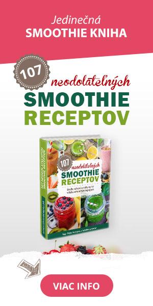 Smoothie kniha s receptami