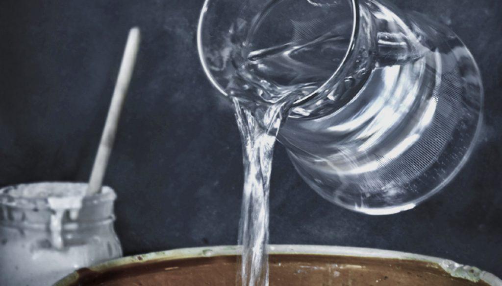voda do kvasku