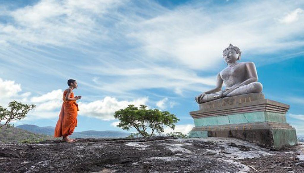 Poučný príbeh: Socha Budhu