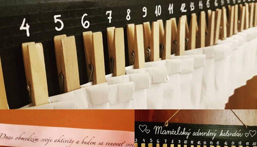 Manželský adventný kalendár