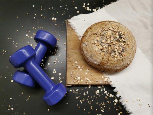 fitnesak chlieb